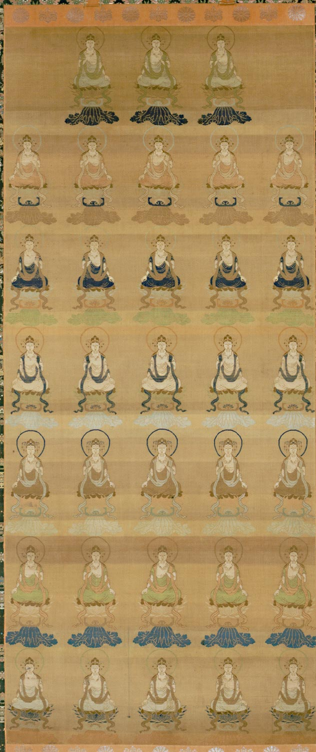 Brocaded Scroll: Thirty-three Forms of Guanyin