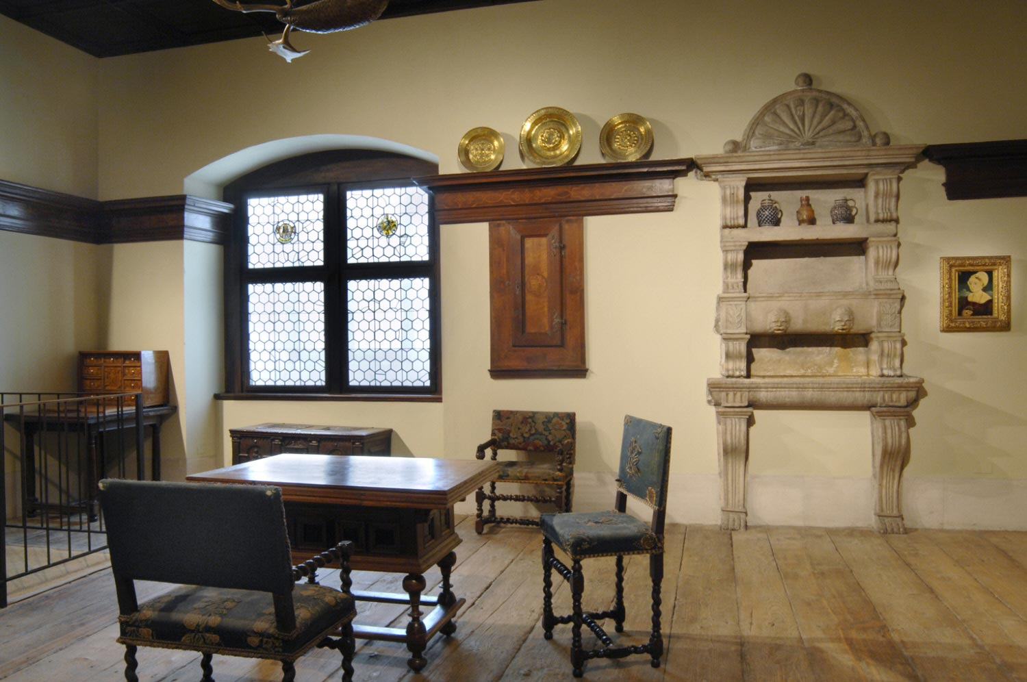 Room with Elements from the Stiegerhof