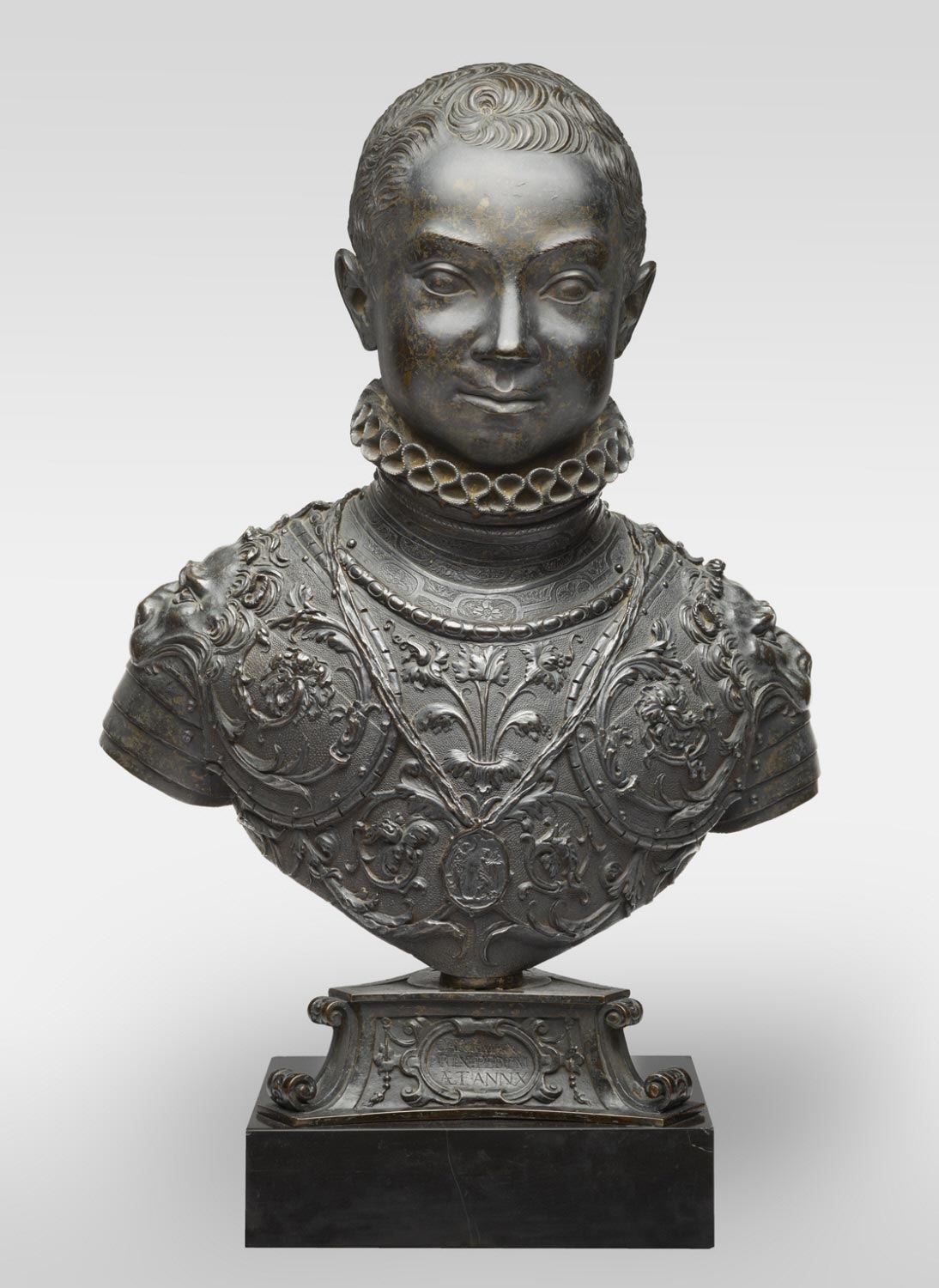 Bust of Carlo Emanuele of Savoy at Ten Years of Age