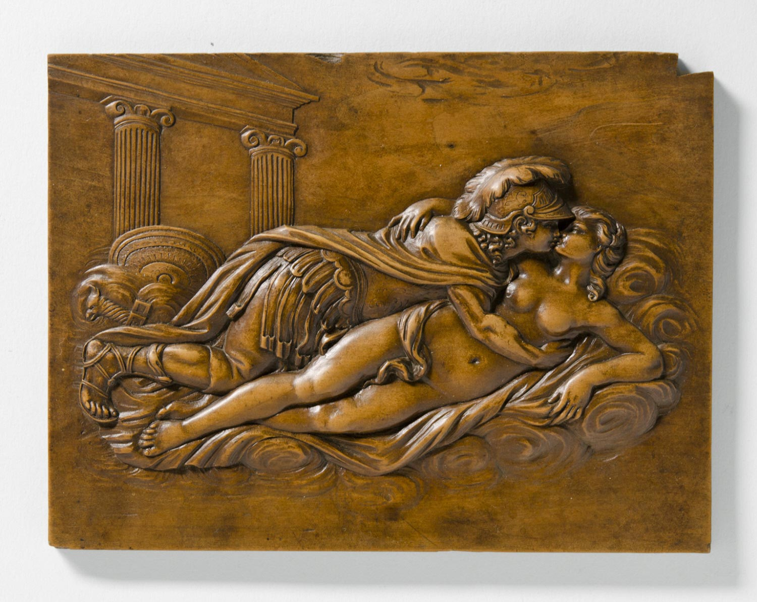 Relief of Mars and Venus