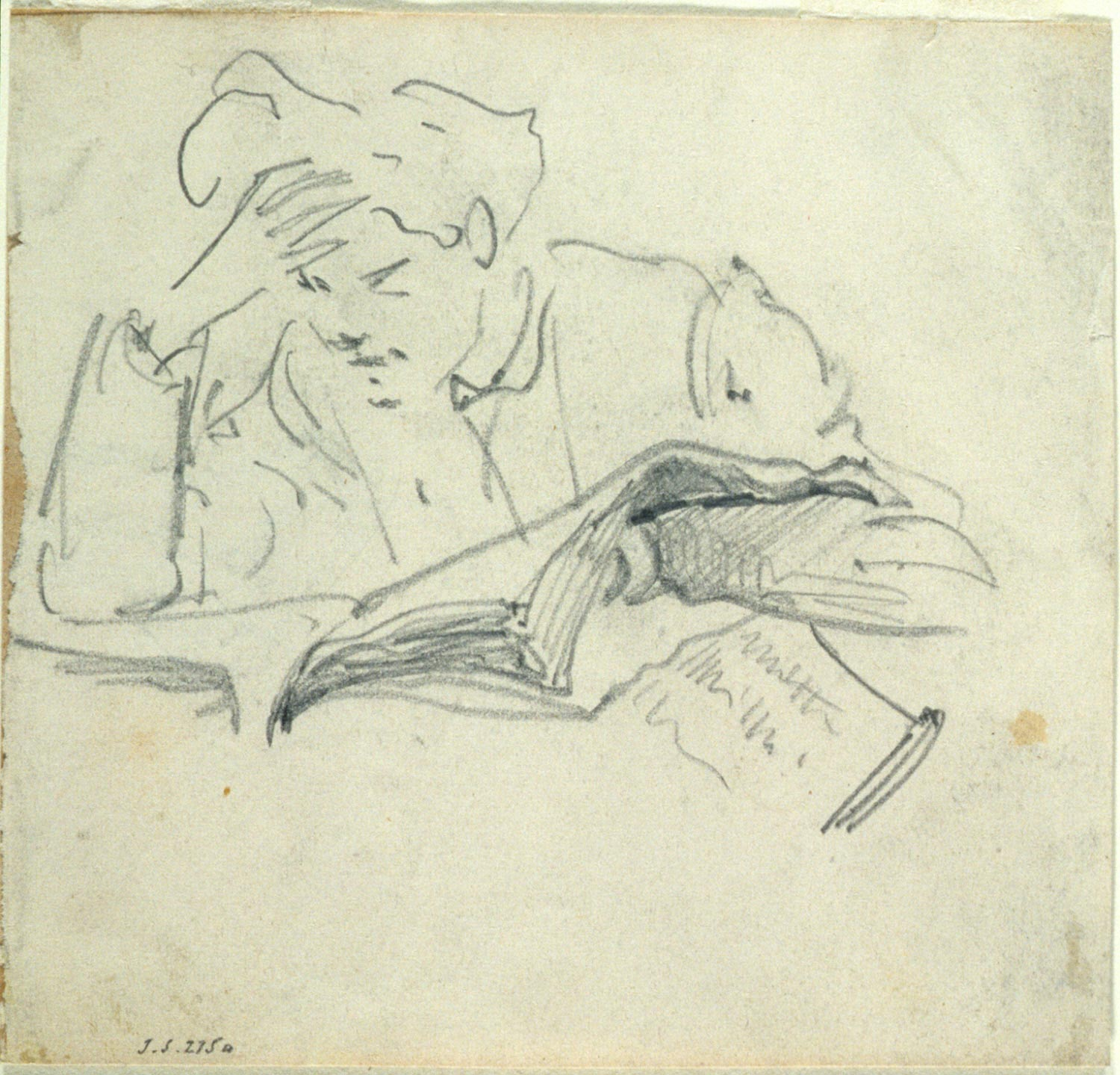 Male Reading
