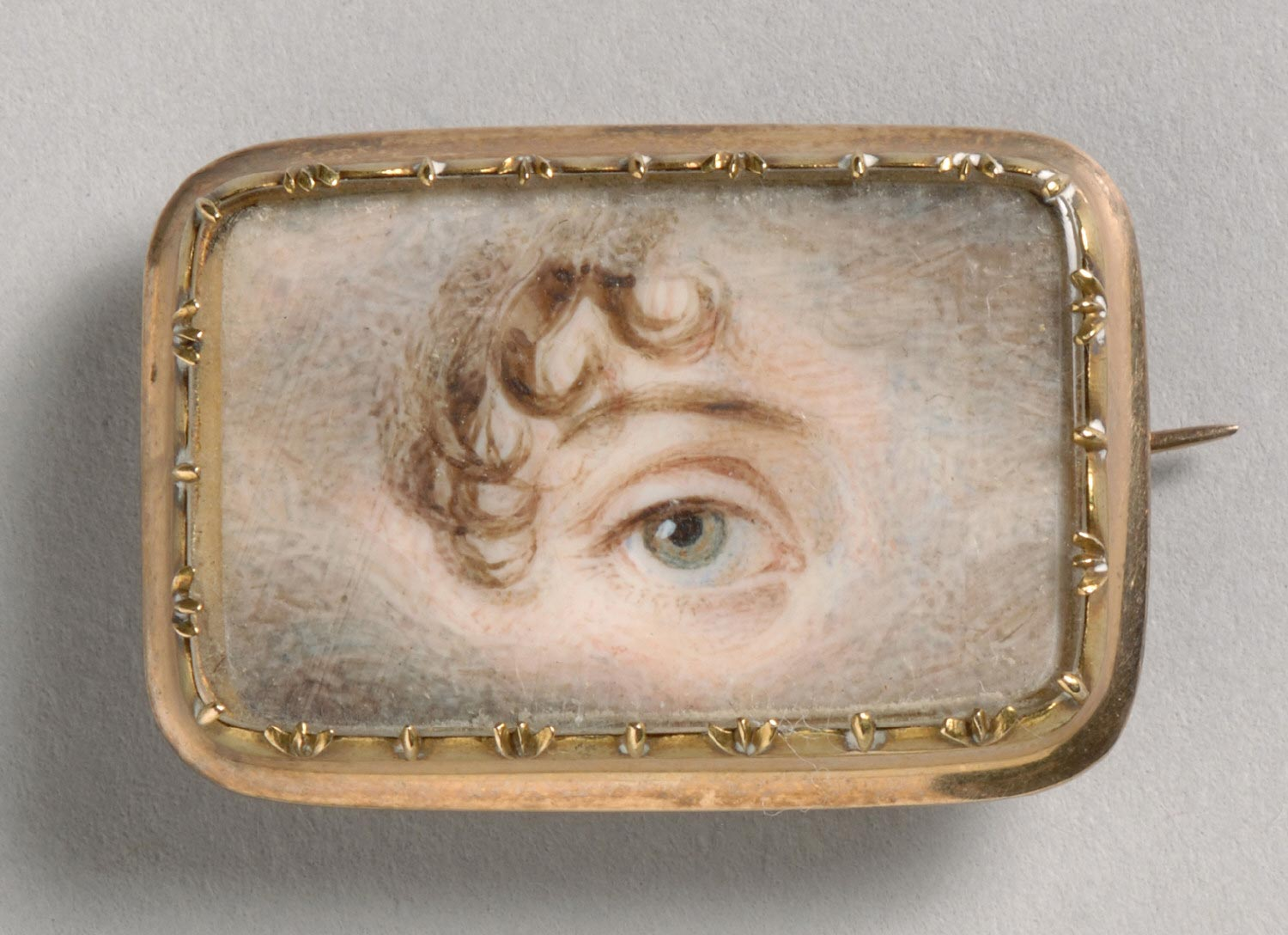 Portrait of a Woman's Right Eye
