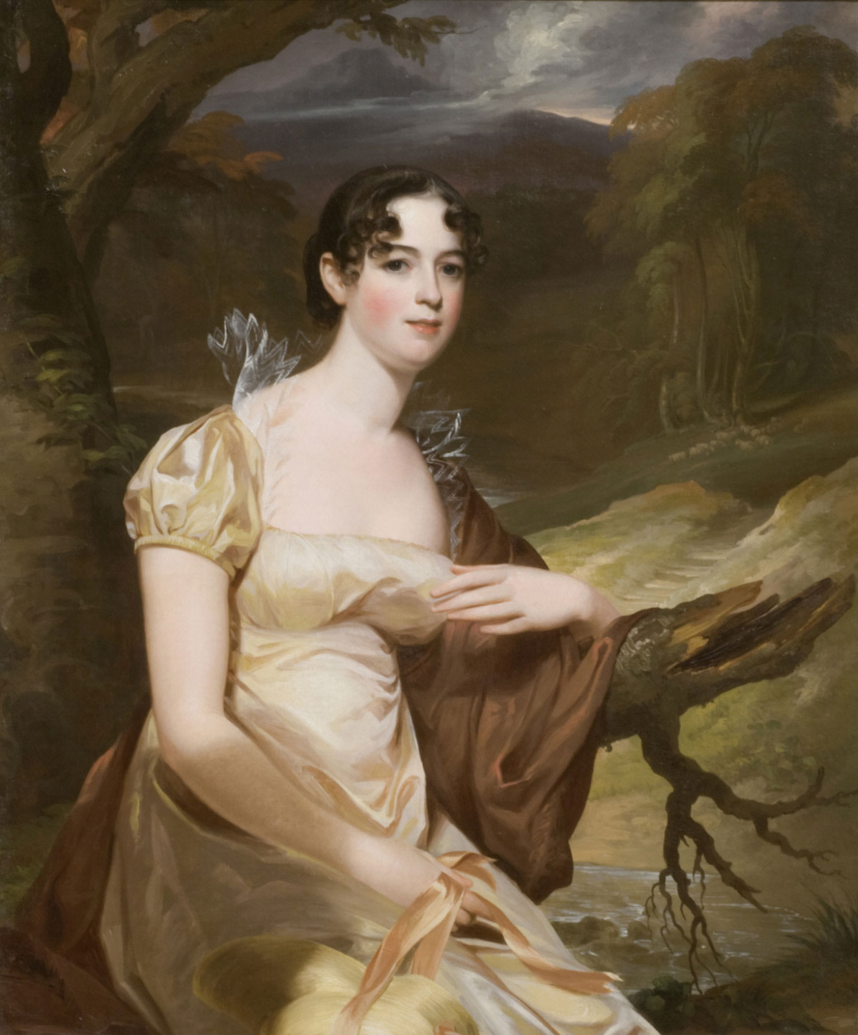 Portrait of Mary Siddons Whelen (1788 - 1867)