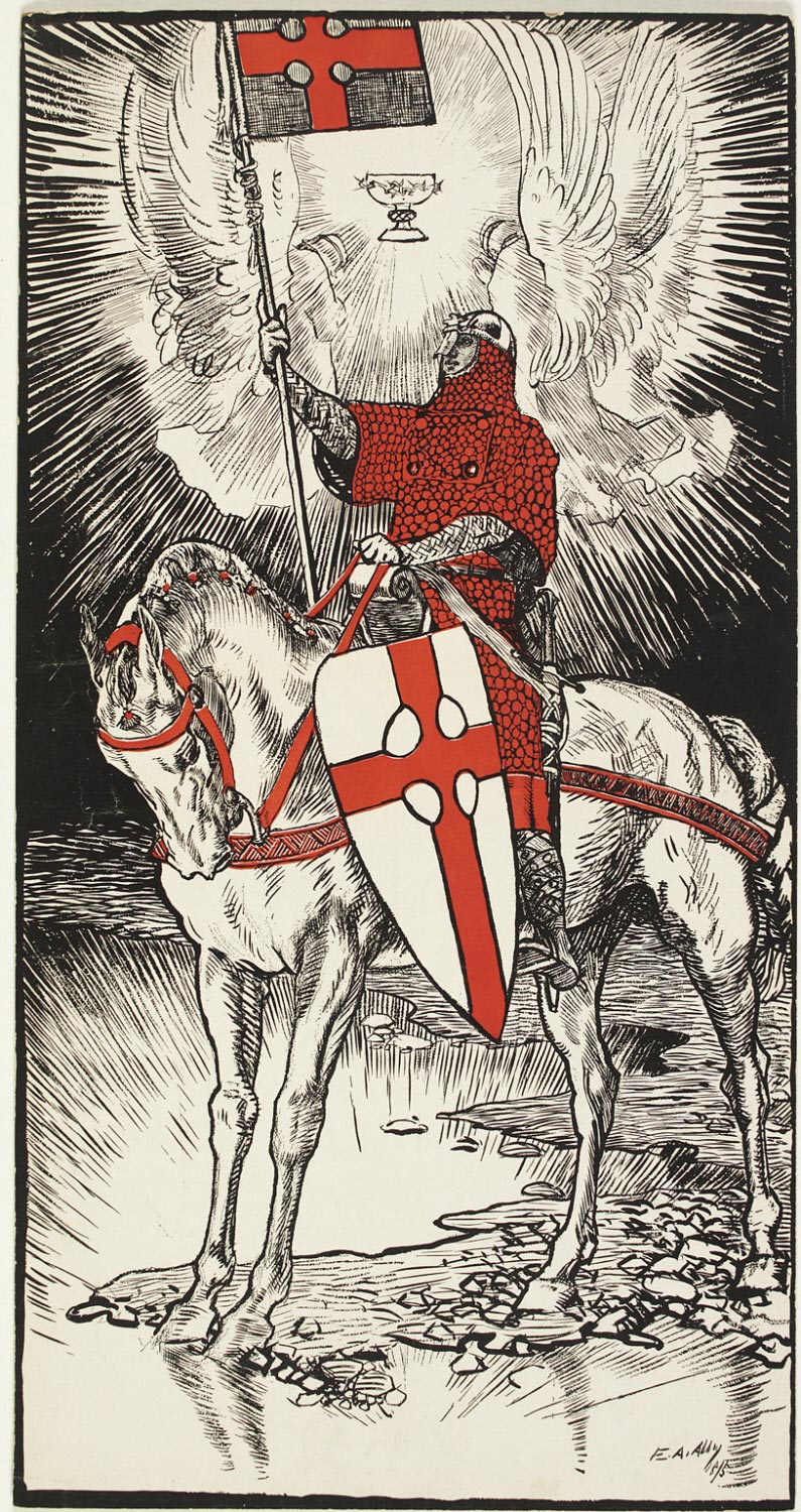 Untitled (The Red Cross Knight)