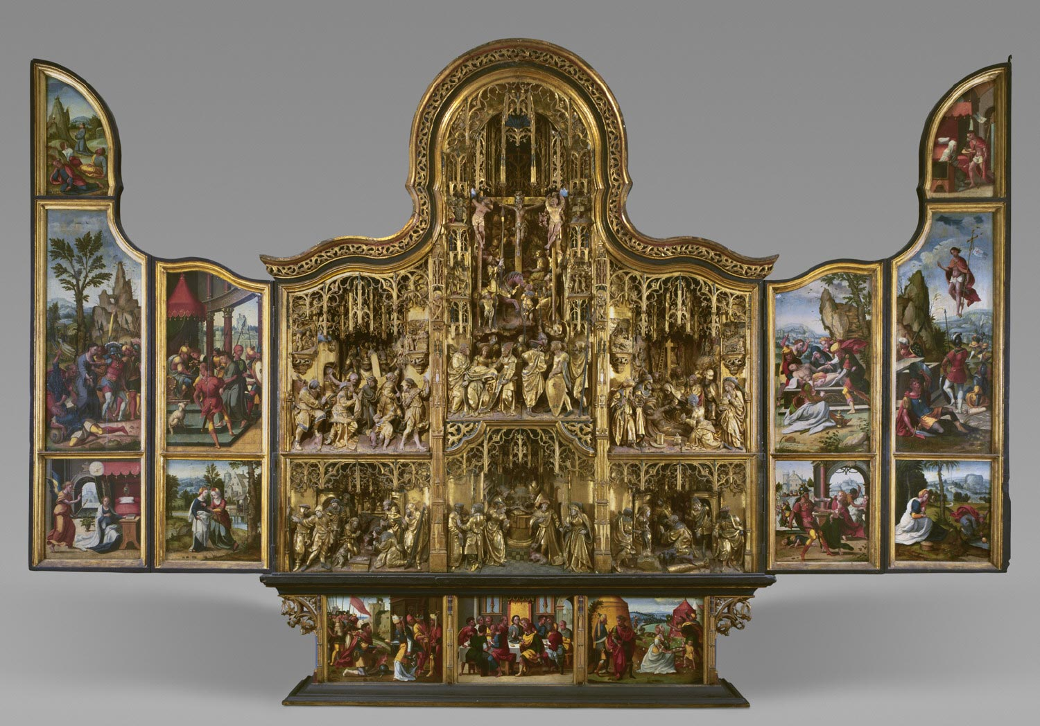 Altarpiece with Scenes of the Passion