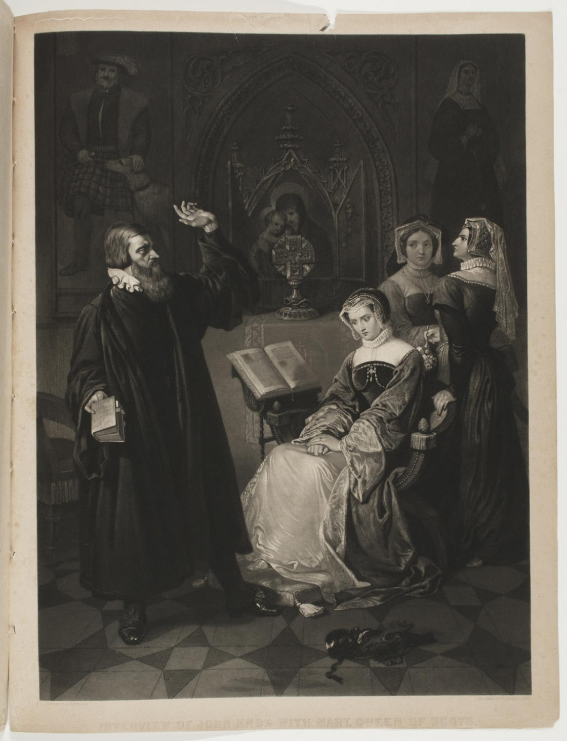Interview of John Knox with Mary, Queen of Scots