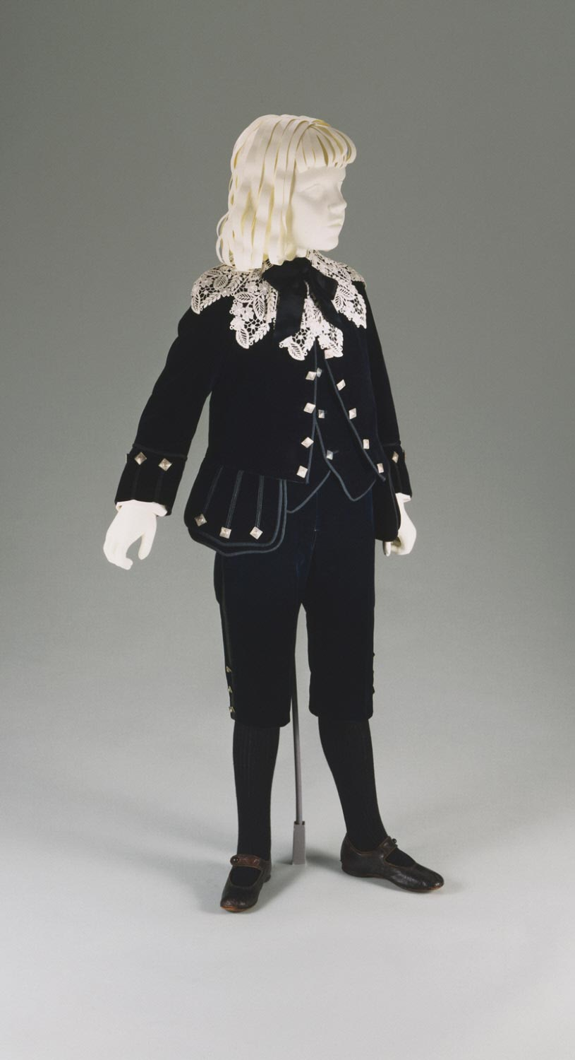 Boy's Suit: Jacket, Waistcoat, and Short Trousers