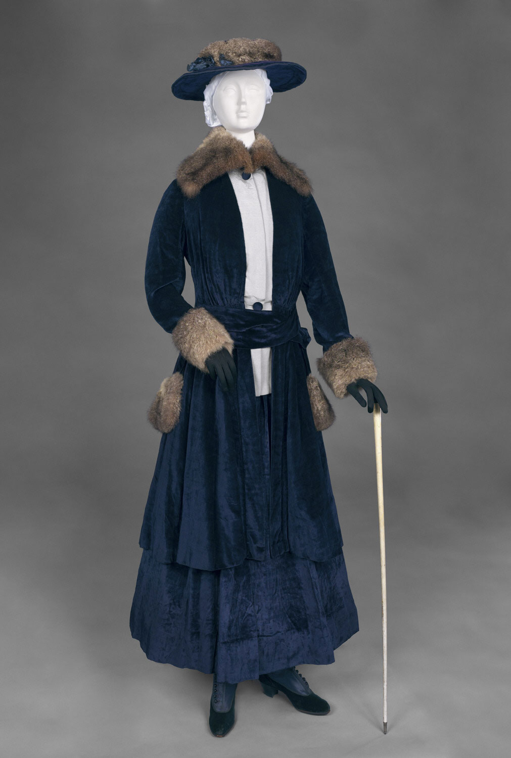 Woman's Coat and Skirt