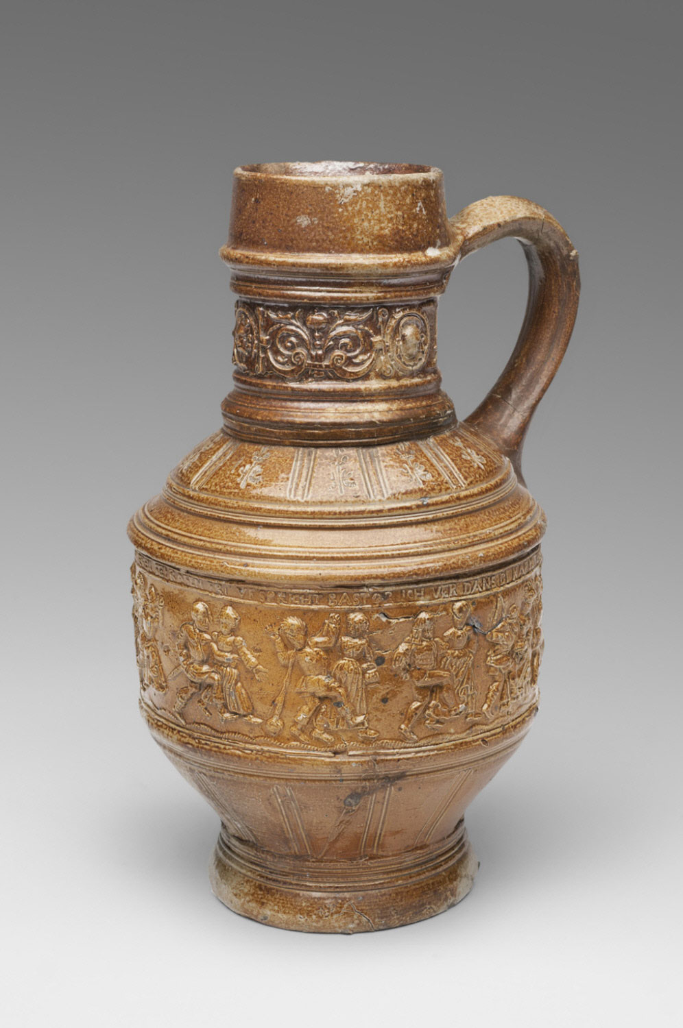 Jug with a Peasant Dance