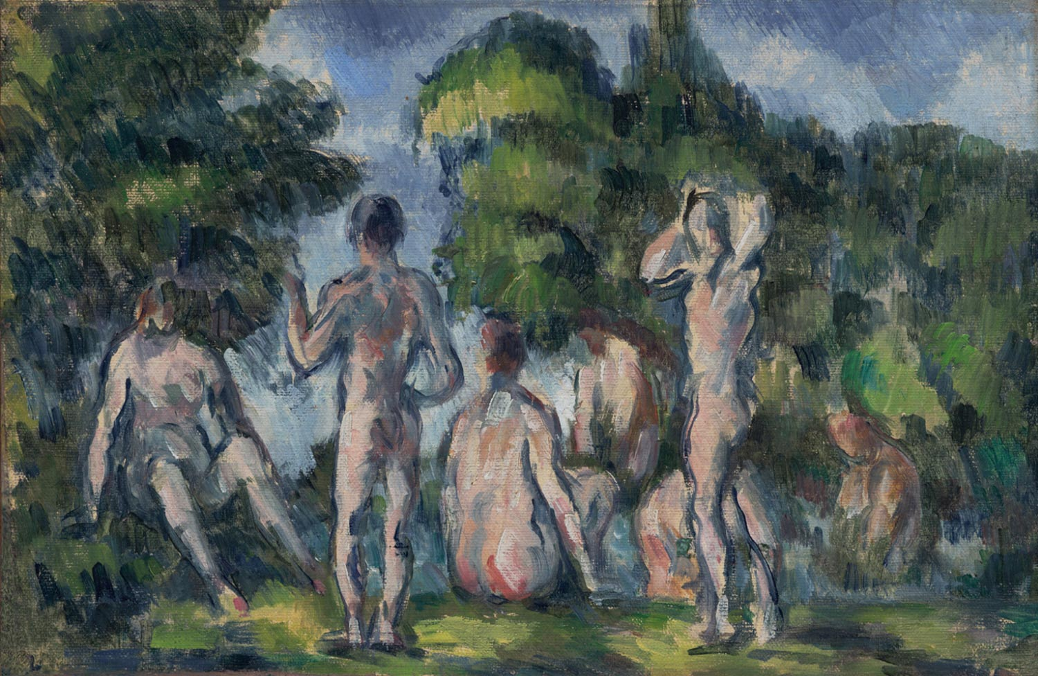 Group of Bathers