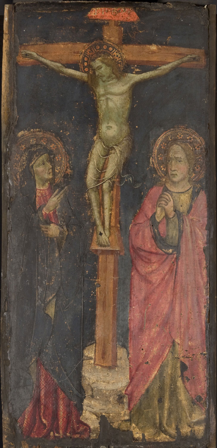 Crucifixion with the Mourning Virgin and Saint John the Evangelist