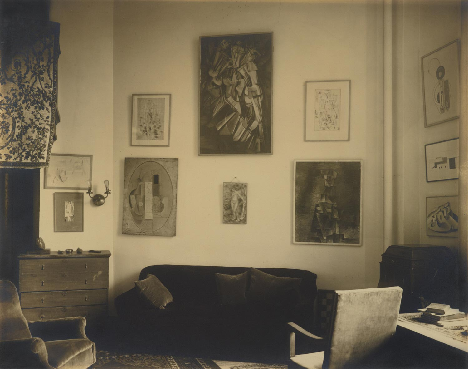 Interior, Arensberg's Apartment, New York