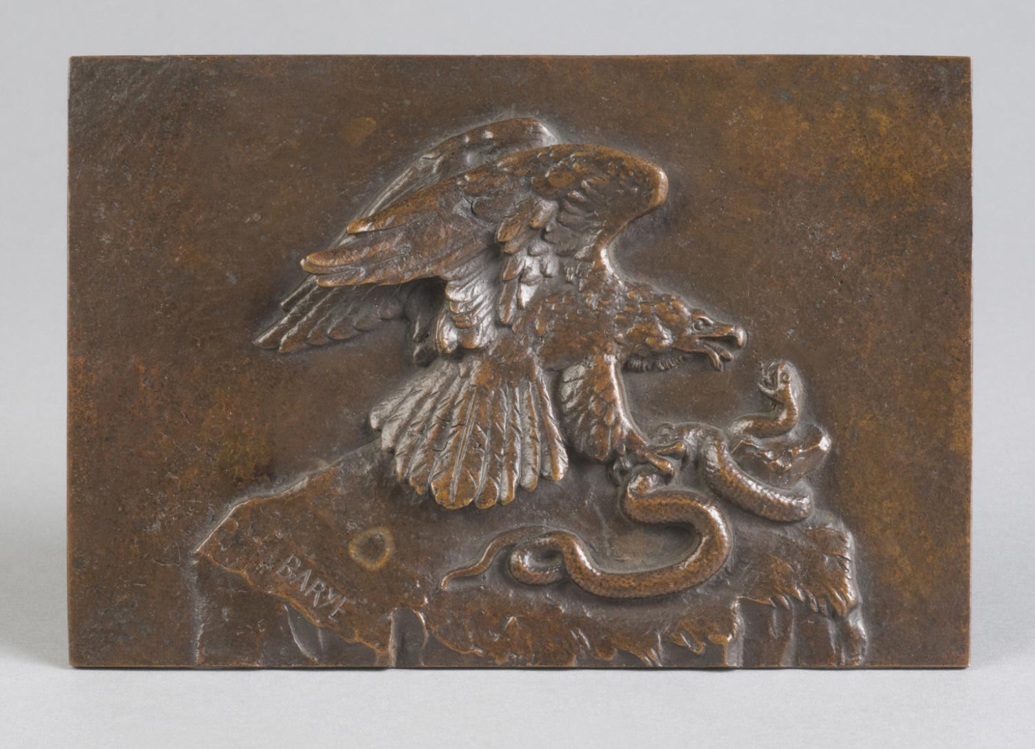 Bas-Relief: Eagle with Serpent
