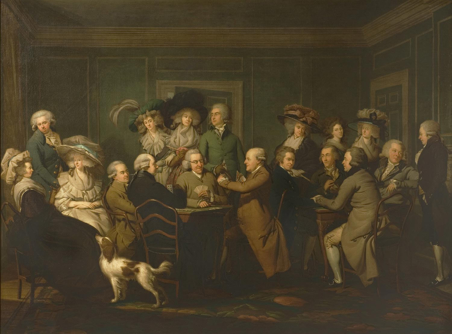 Portrait of Thomas Payne with His Family and Friends