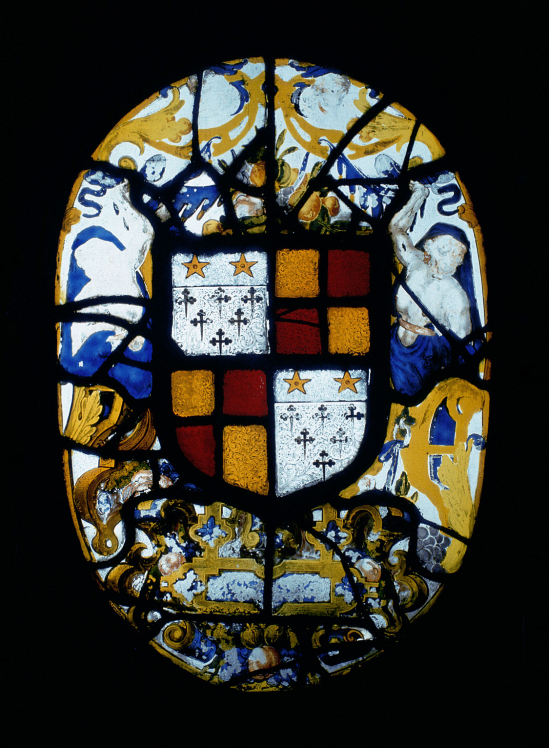 Coat of Arms of Edward Clinton (died 1585) or Henry Clinton (died 1616), Lords Clinton and Earls of Lincoln