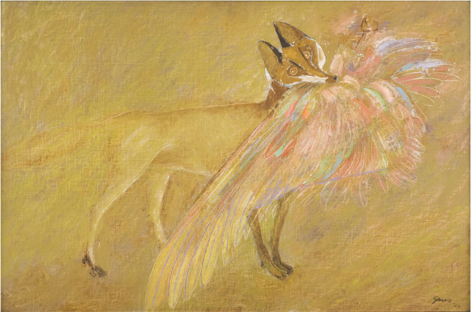 Fox with a Phoenix Wing