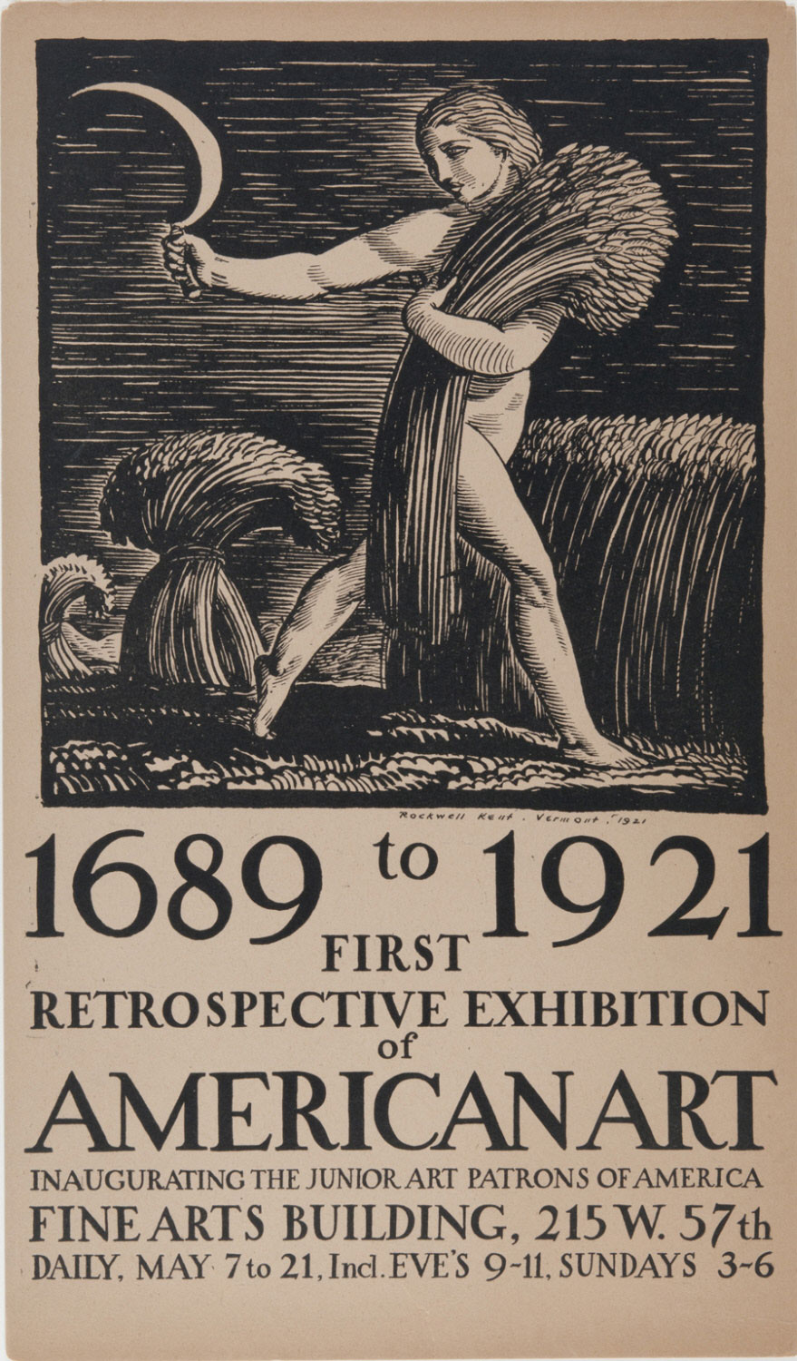 1689 to 1921: First Retrospective Exhibition of American Art