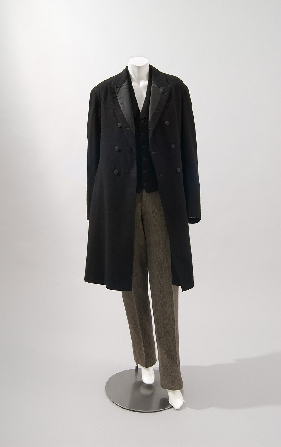 Man's Suit: Frock Coat, Waistcoat, and Trousers