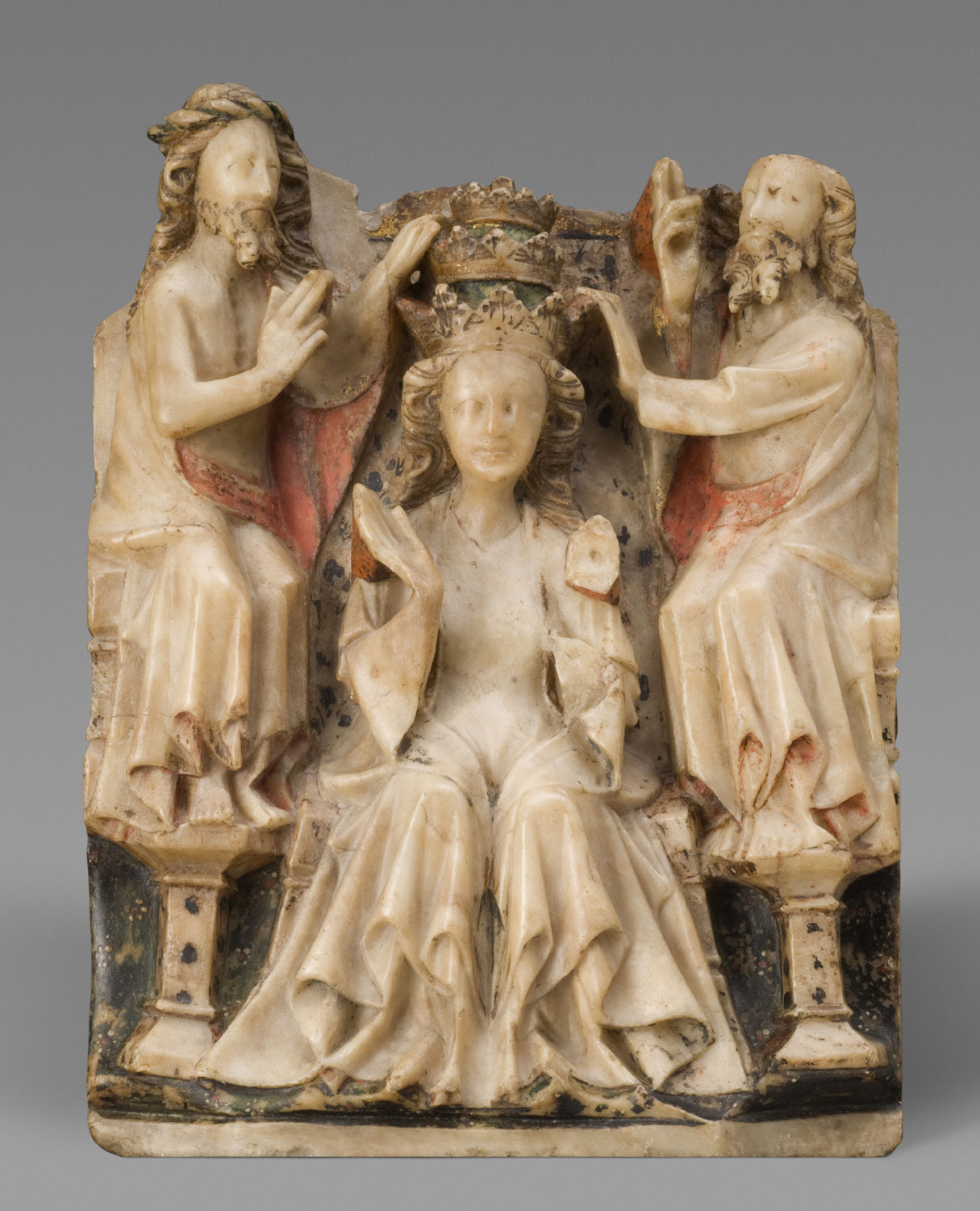 The Enthroned Virgin Crowned by Jesus and God the Father