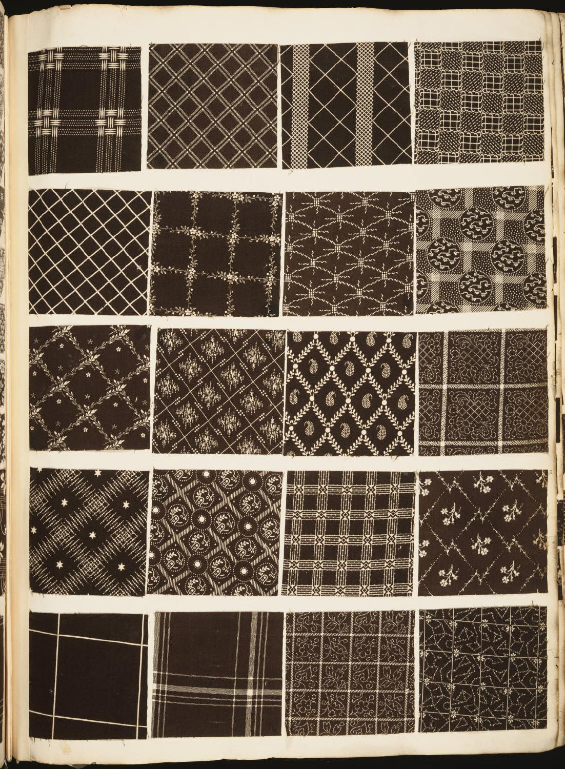 Printed Textile Swatches