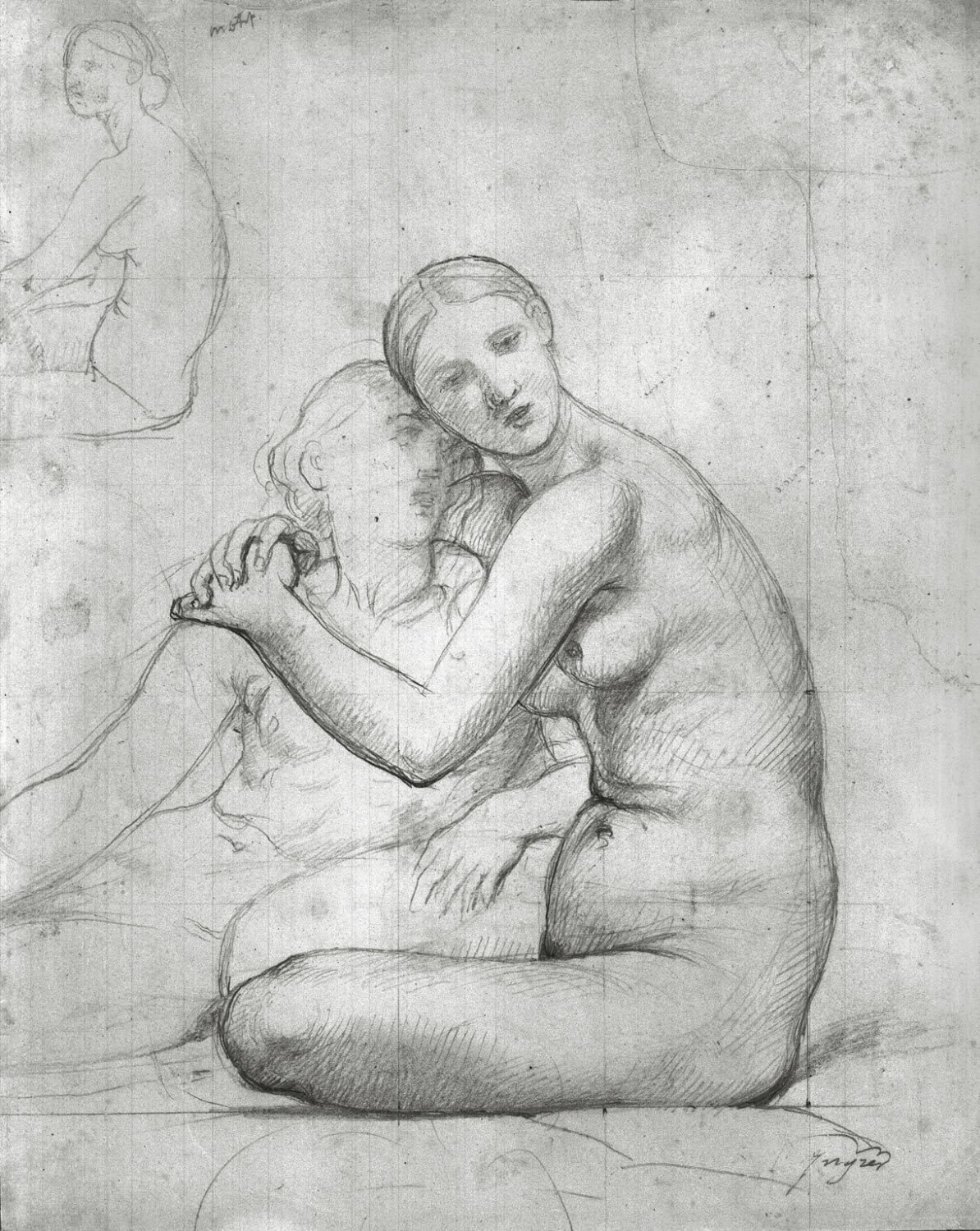Study for the mural