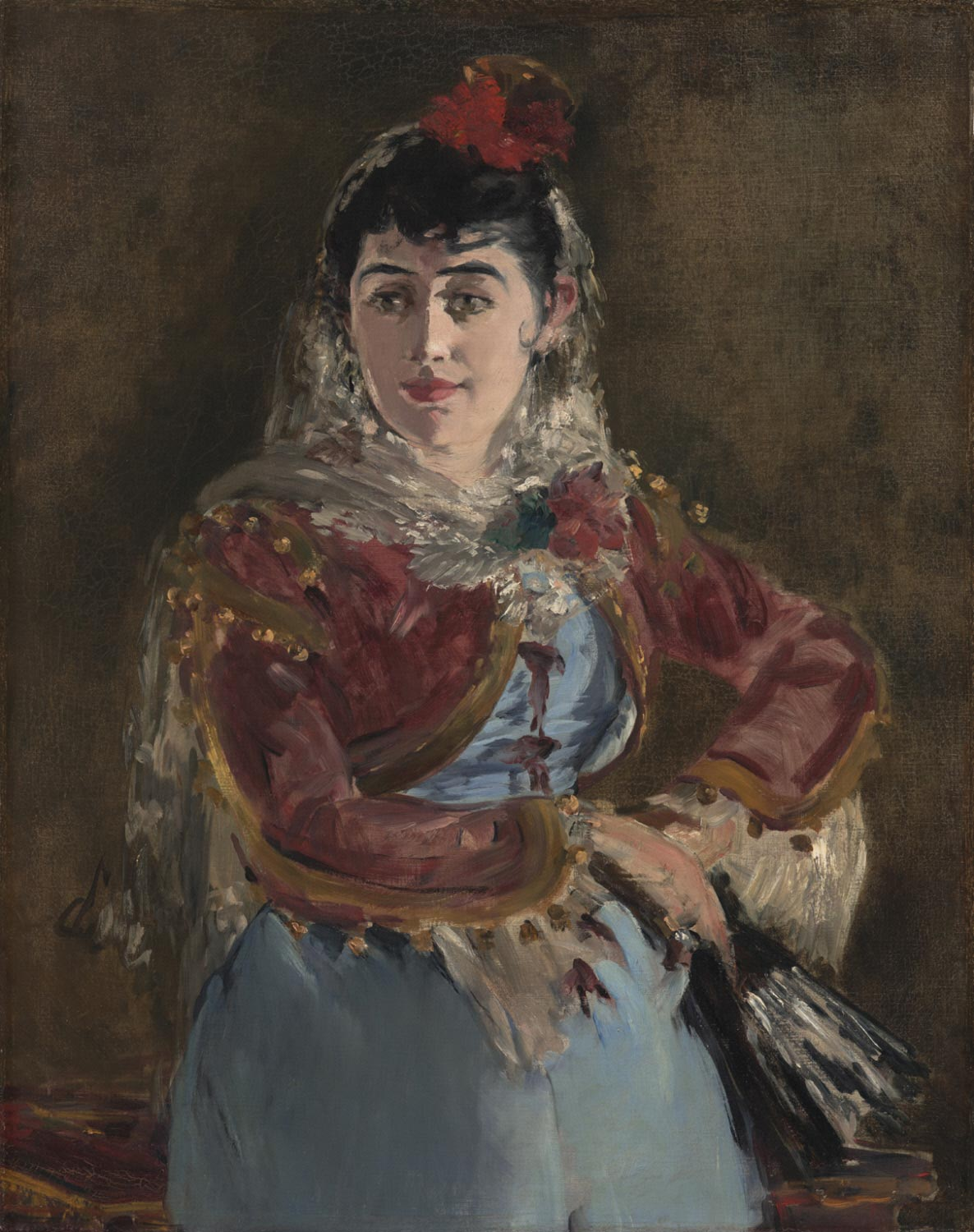 Portrait of Émilie Ambre as Carmen
