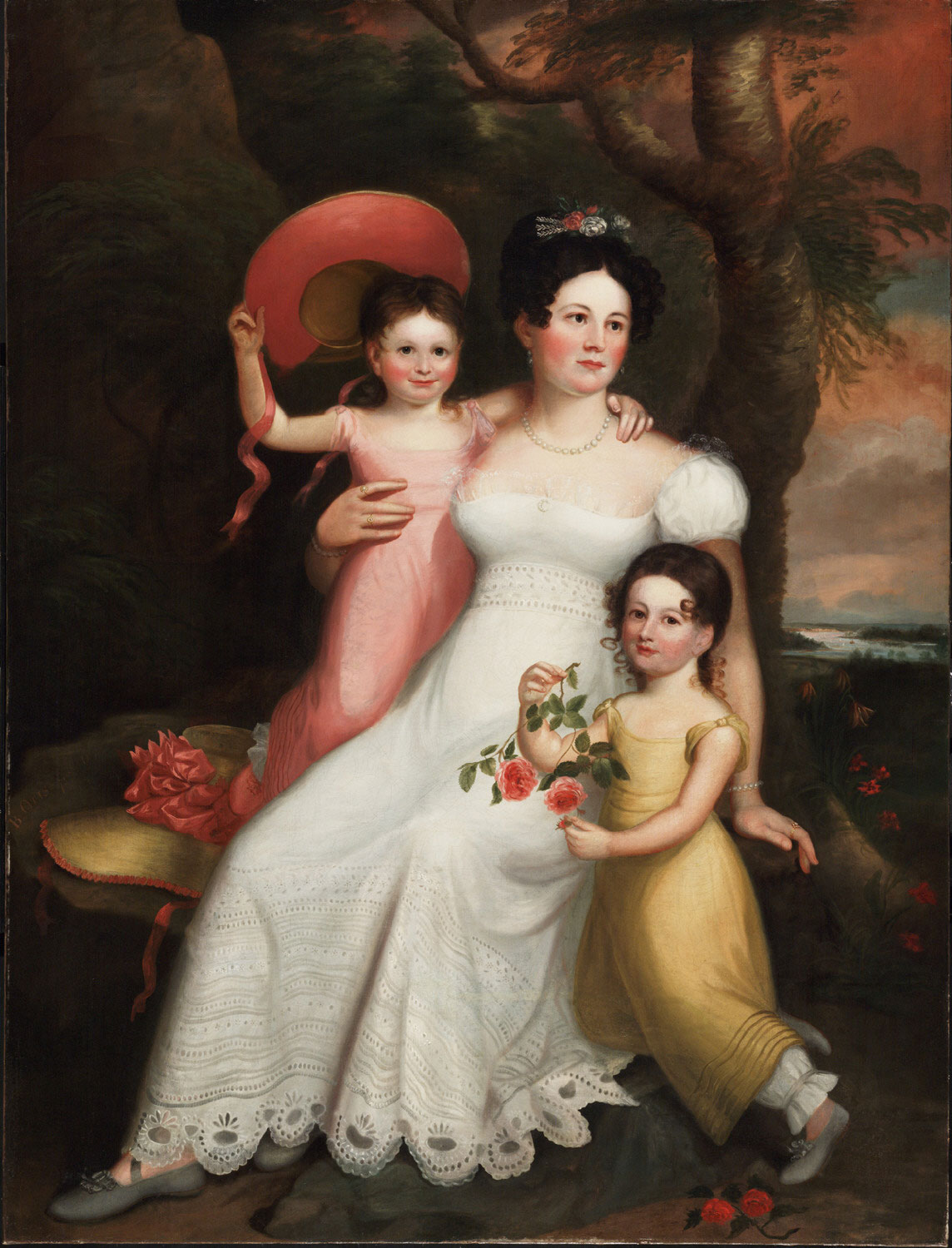 Annette Savage and her daughters, Charlotte & Pauline
