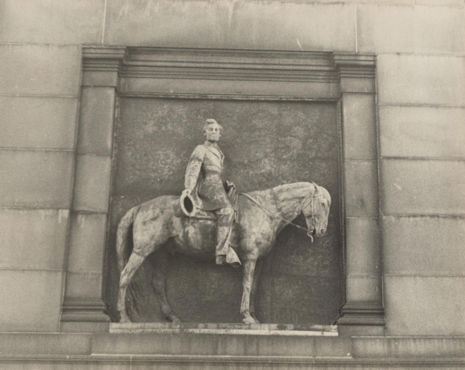 Abraham Lincoln Relief on the Soliders' and Sailors' Arch at the Grand Army Plaza, Brooklyn