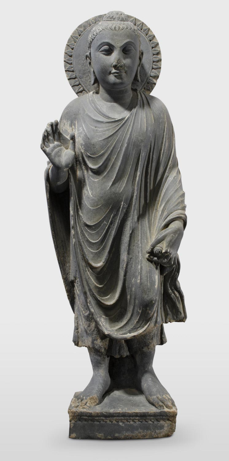 Buddha with His Hand in the Gesture of Reassurance