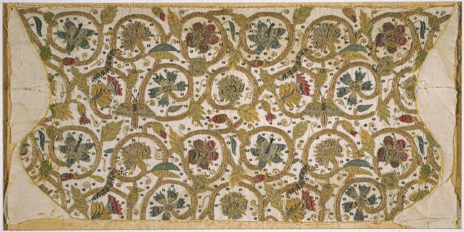 Embroidered Coif (Unassembled)