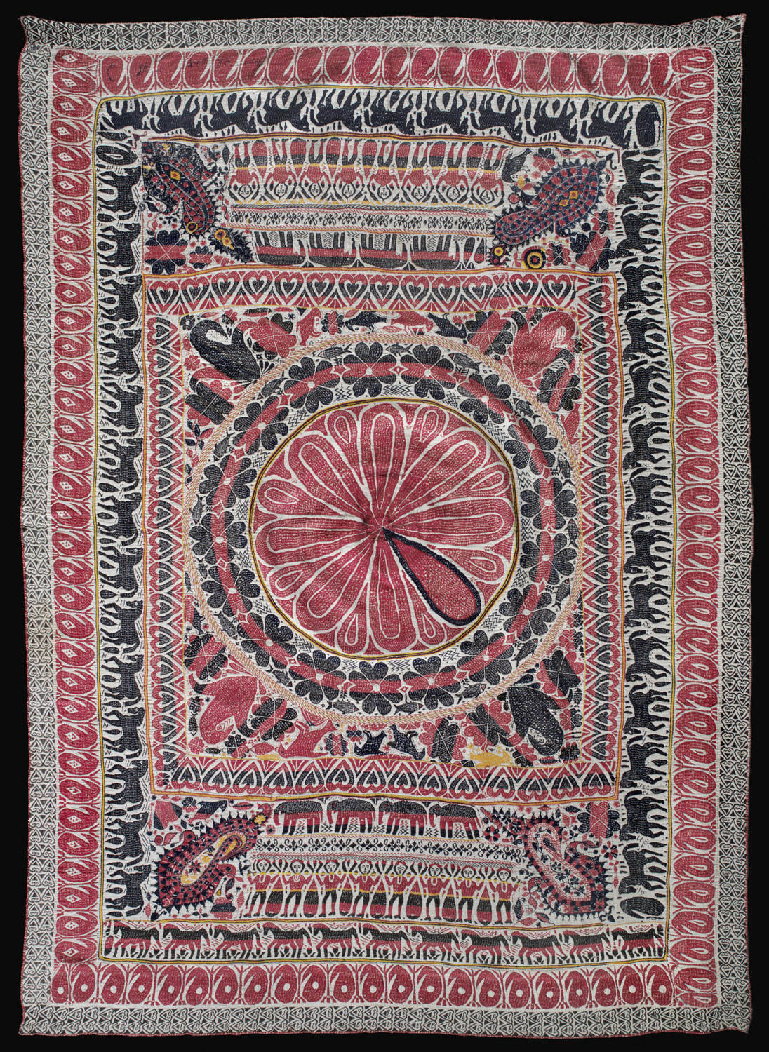 Kantha (Embroidered Quilt)