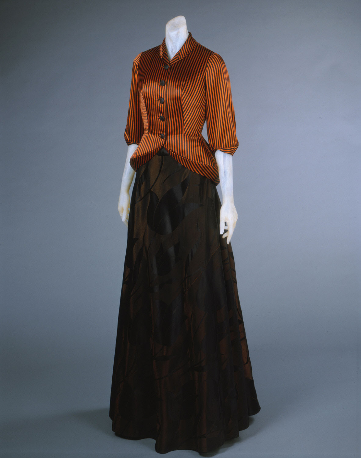 Woman's Evening Dress and Jacket