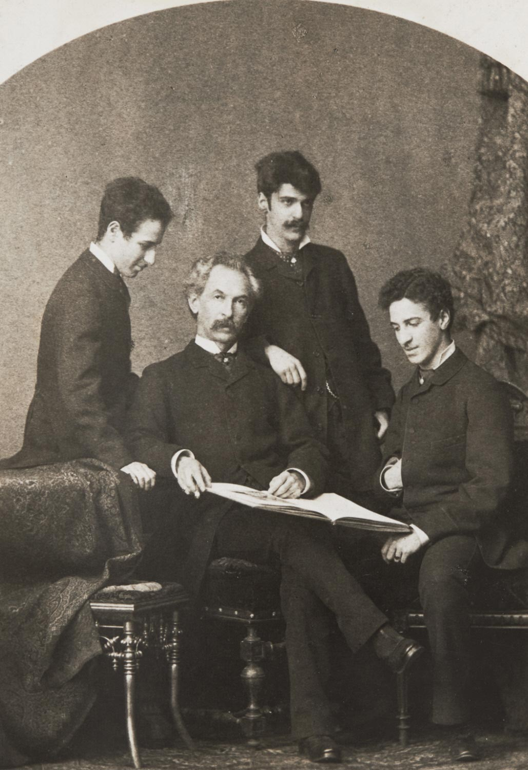 Edward Stieglitz and His Sons, Leopold, Alfred, Julius - Germany