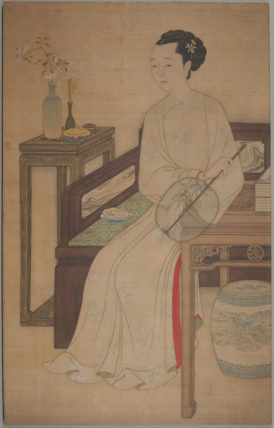 Portrait of a Manchu Lady