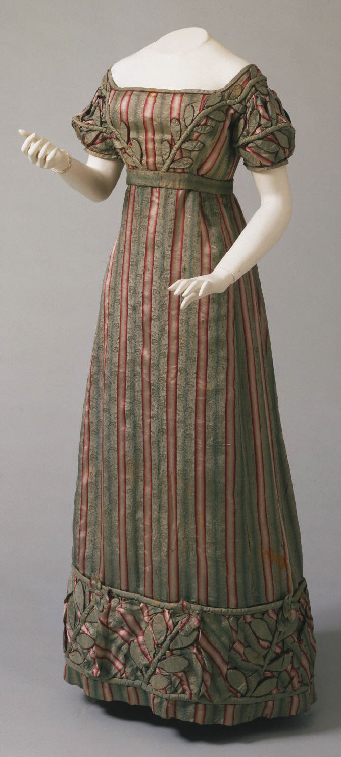 Woman's Dress, Belt, and Sleeves