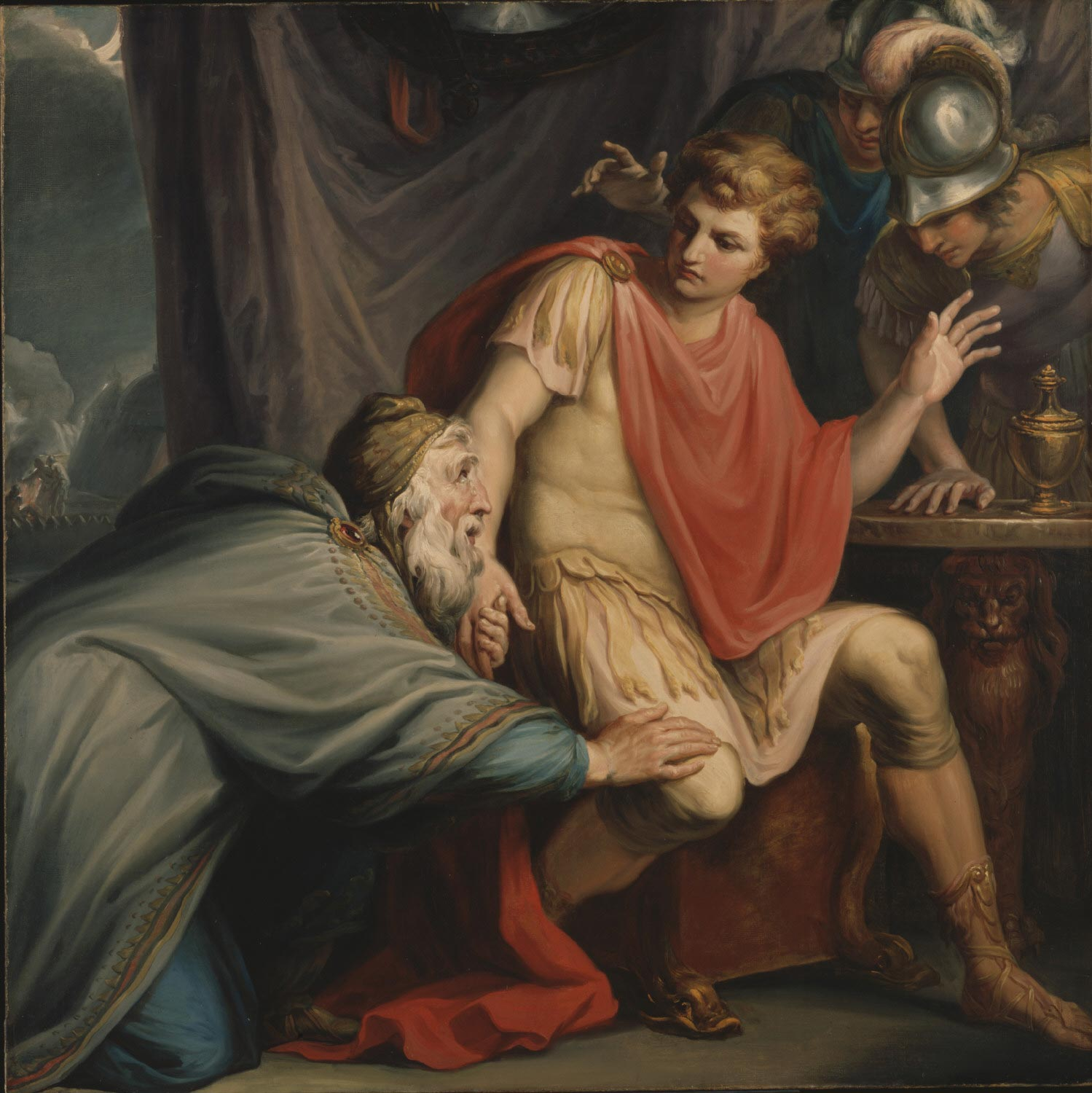Achilles Besought by Priam for the Body of His Son Hector