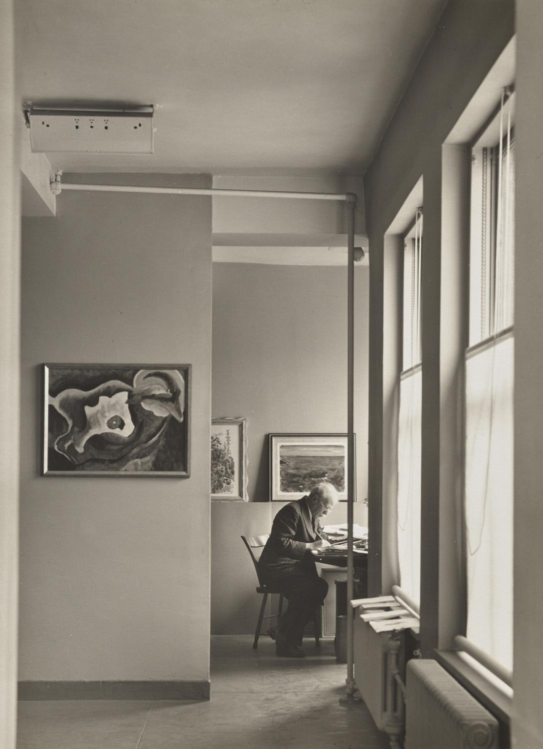Alfred Stieglitz at An American Place