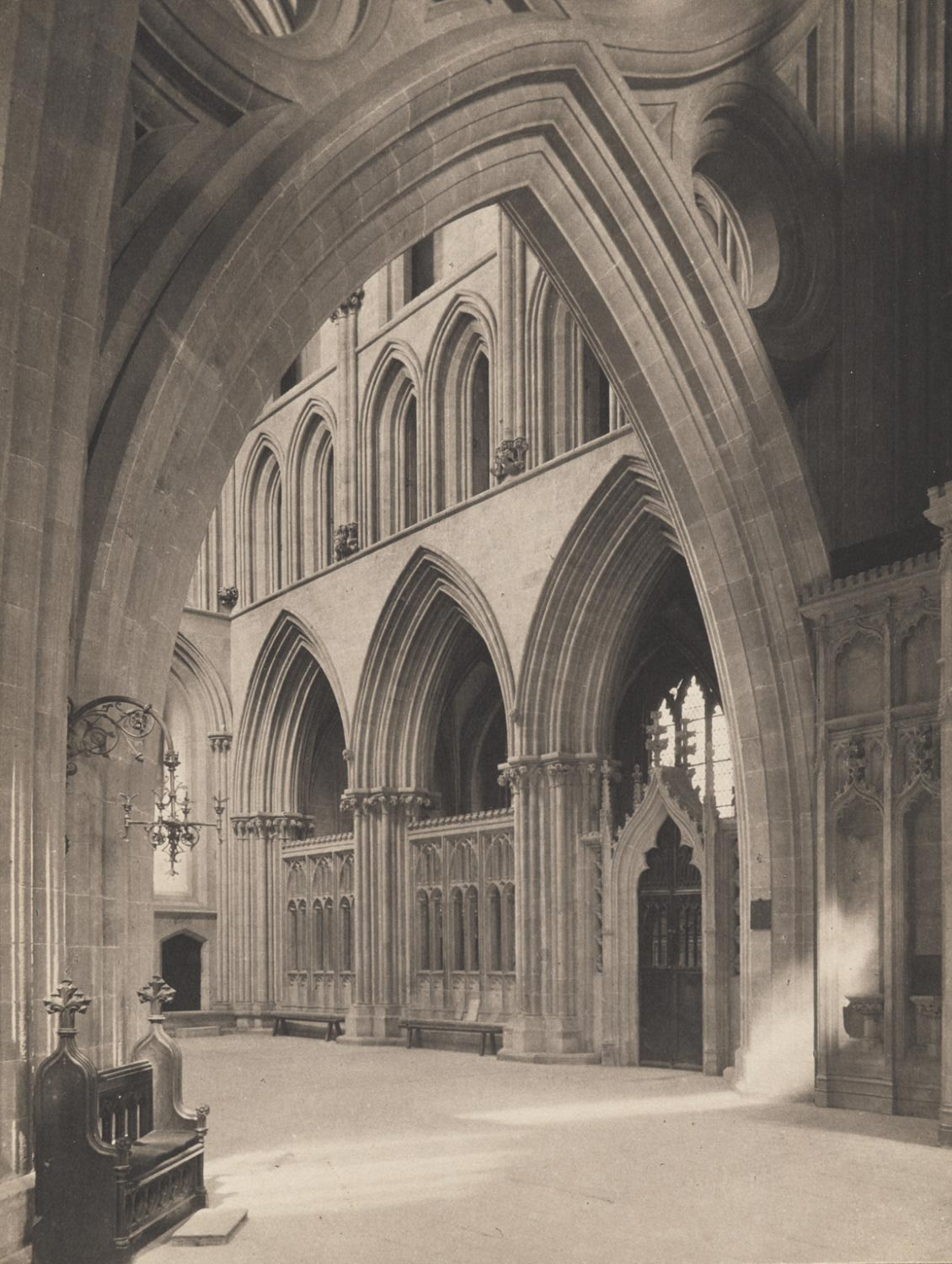 Wells Cathedral: North Transept