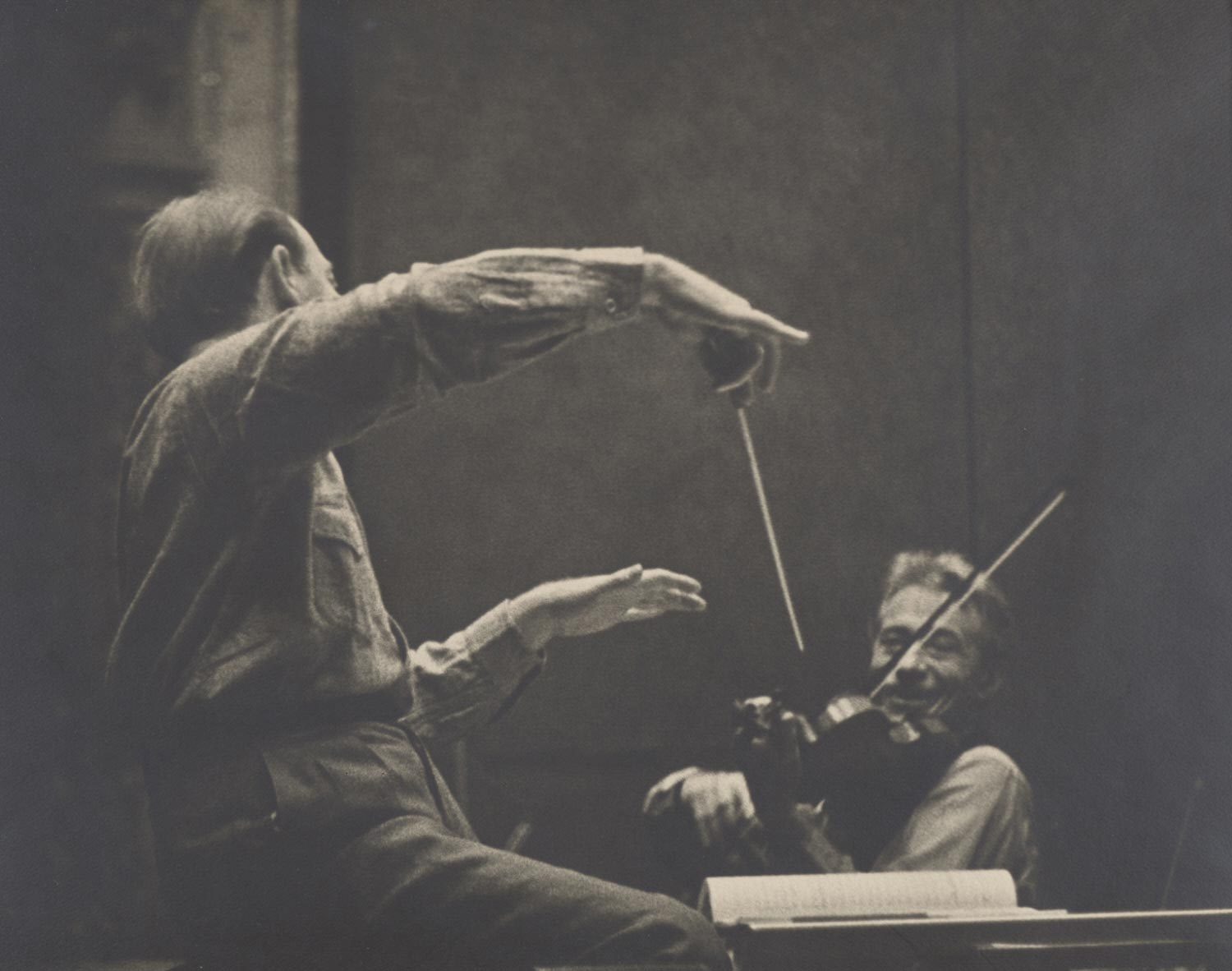 Philadelphia Orchestra Practice - Unidentified Conductor