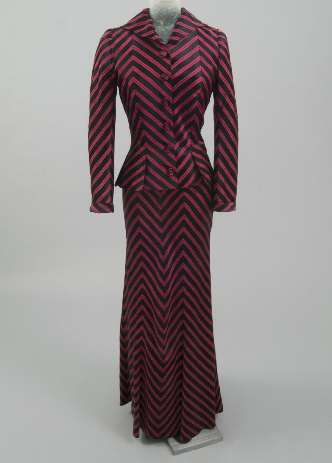 Woman's Dinner Suit: Jacket and Skirt
