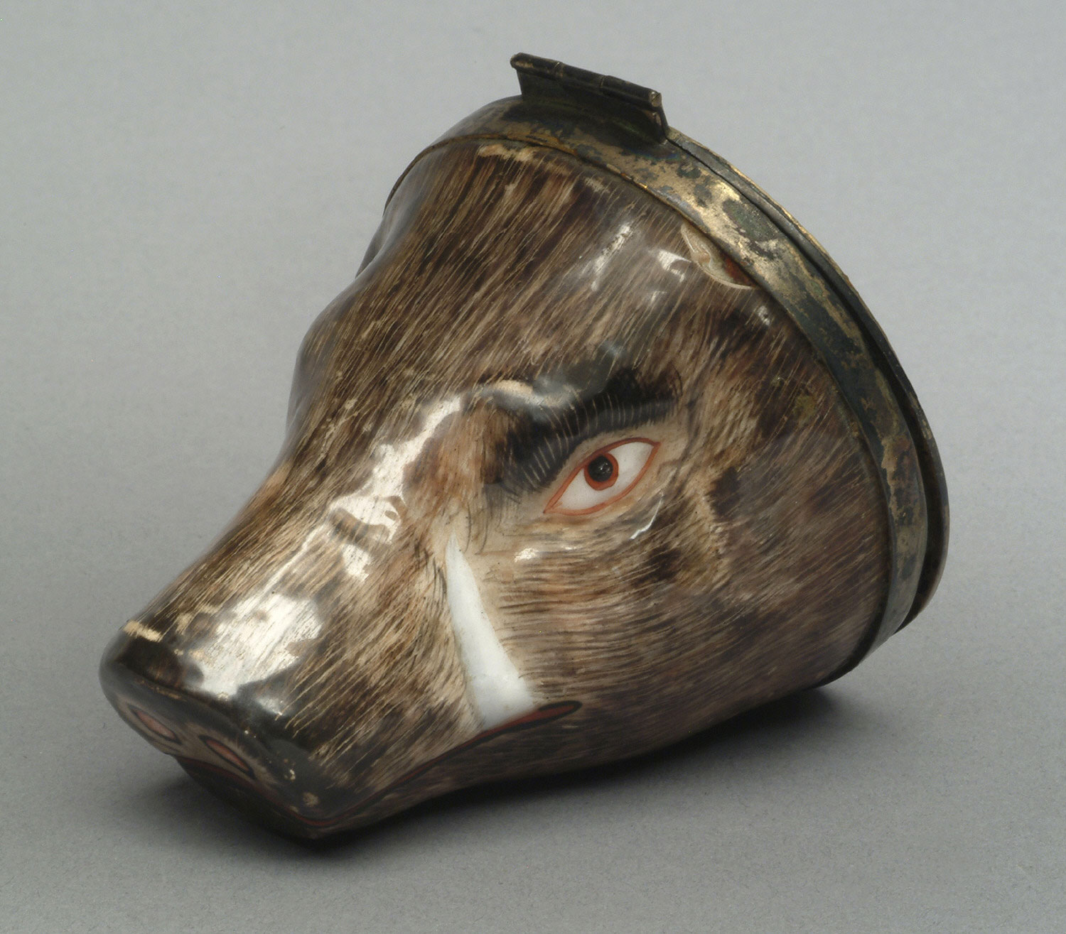 Bonbonnière (Sweets Box) in the Form of a Boar's Head