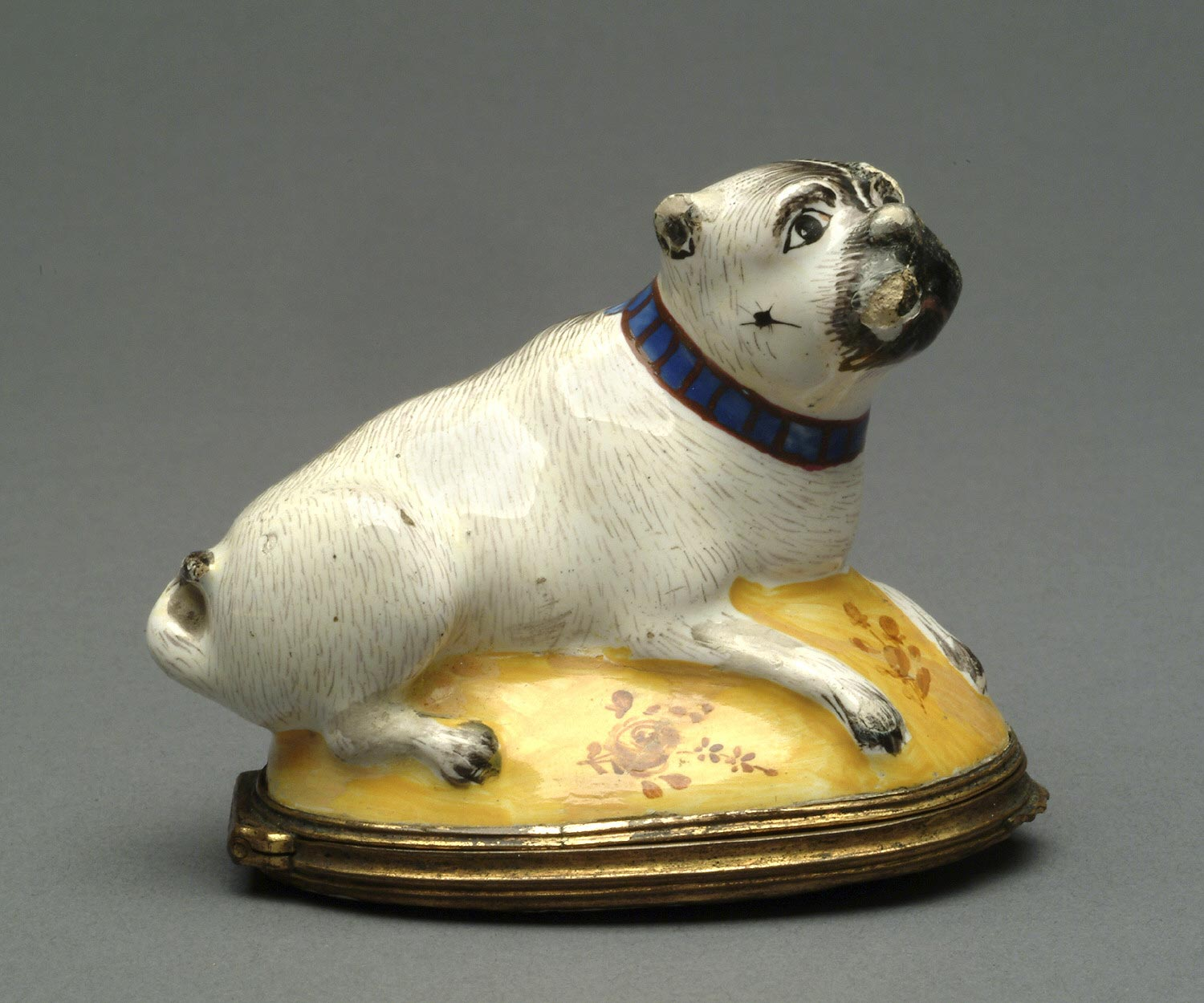 Bonbonnière (Sweets Box) in the Form of a Pug Dog
