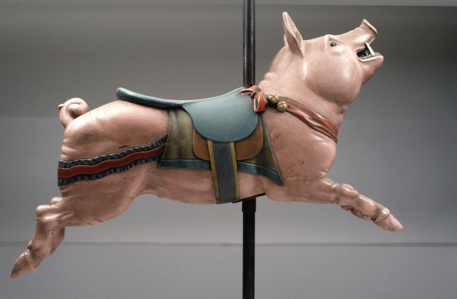 Carousel Figure of a Pig