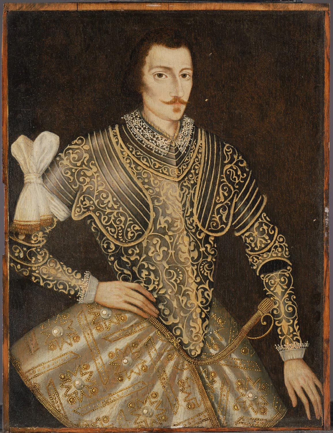 Portrait of a Man in Armor