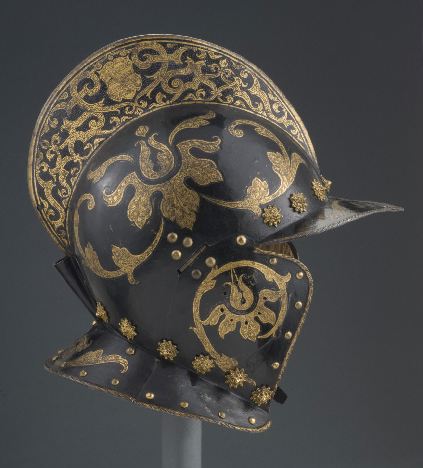 Burgonet for the Guard of Christian I of Saxony