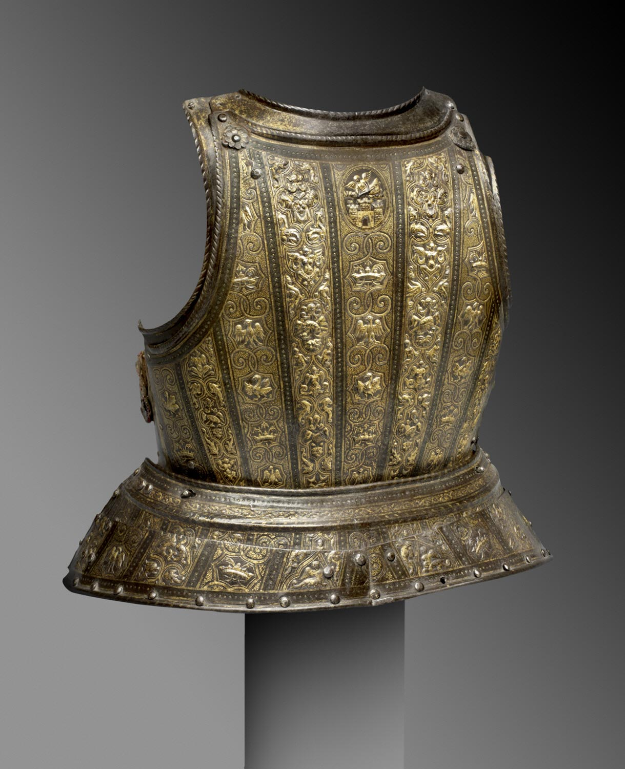 Backplate, from a Cuirassier Armor for a Boy