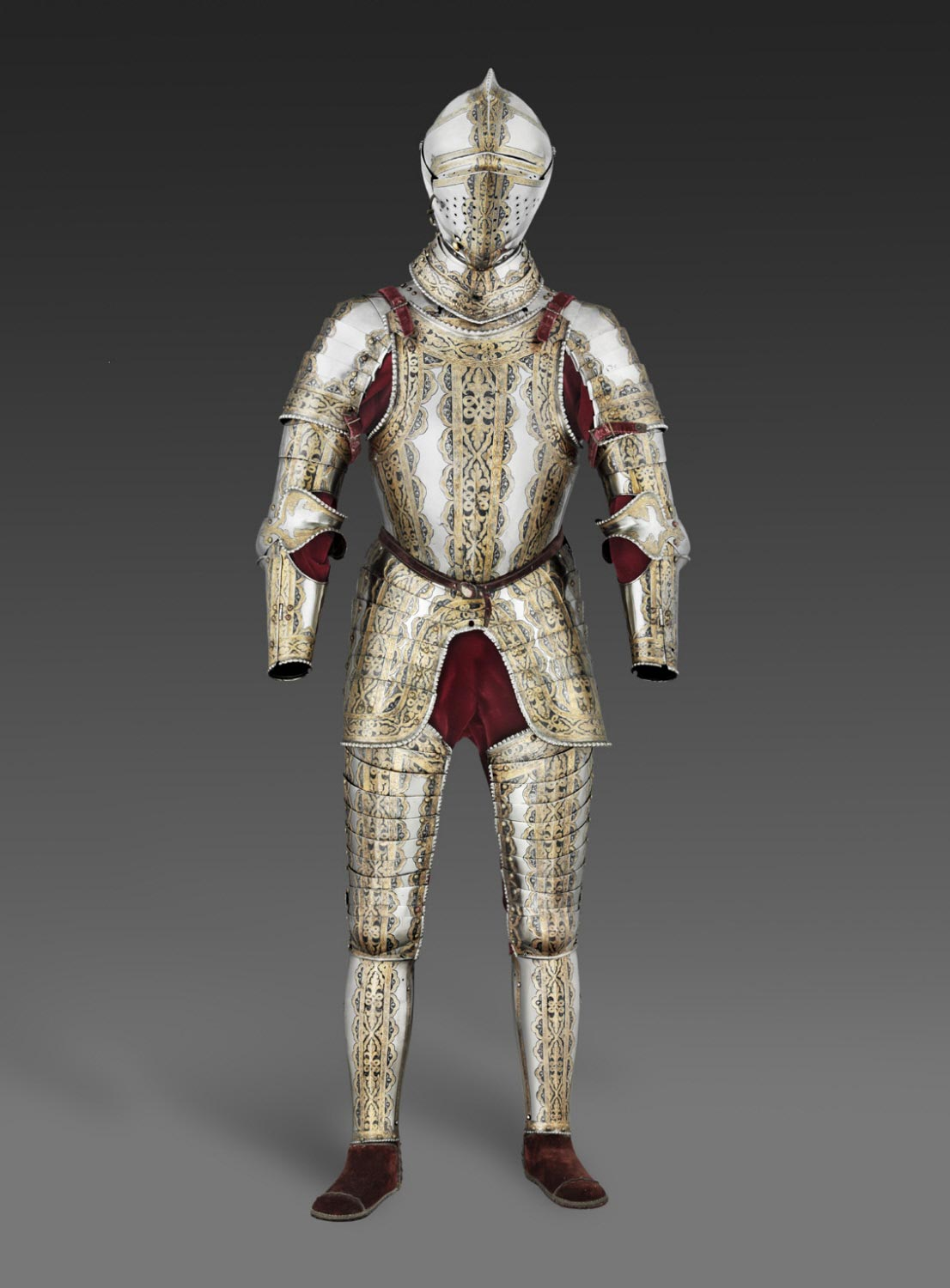Portions of an Armor Garniture