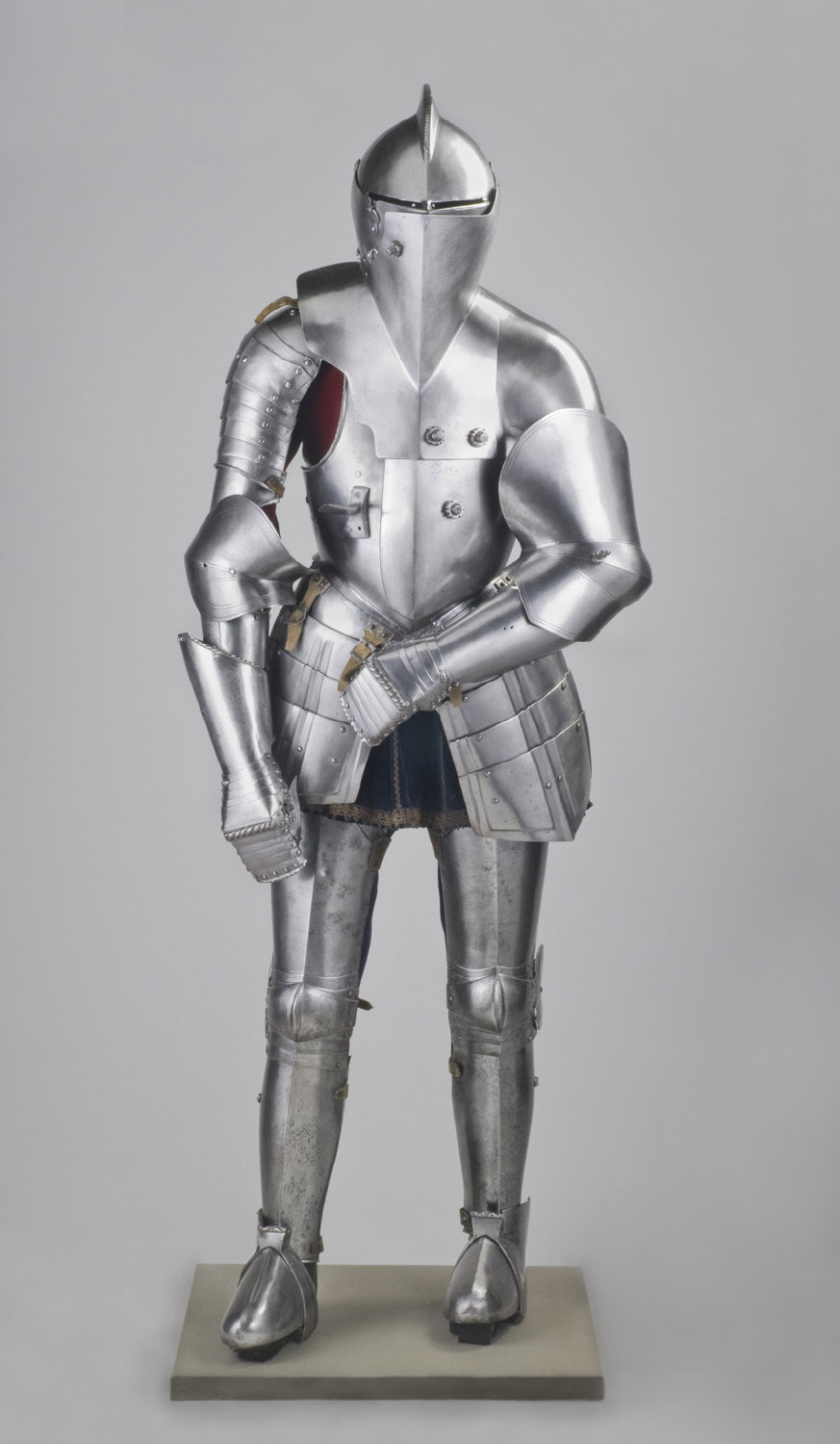 Armor for Use in the Tilt, with Boot Stirrups