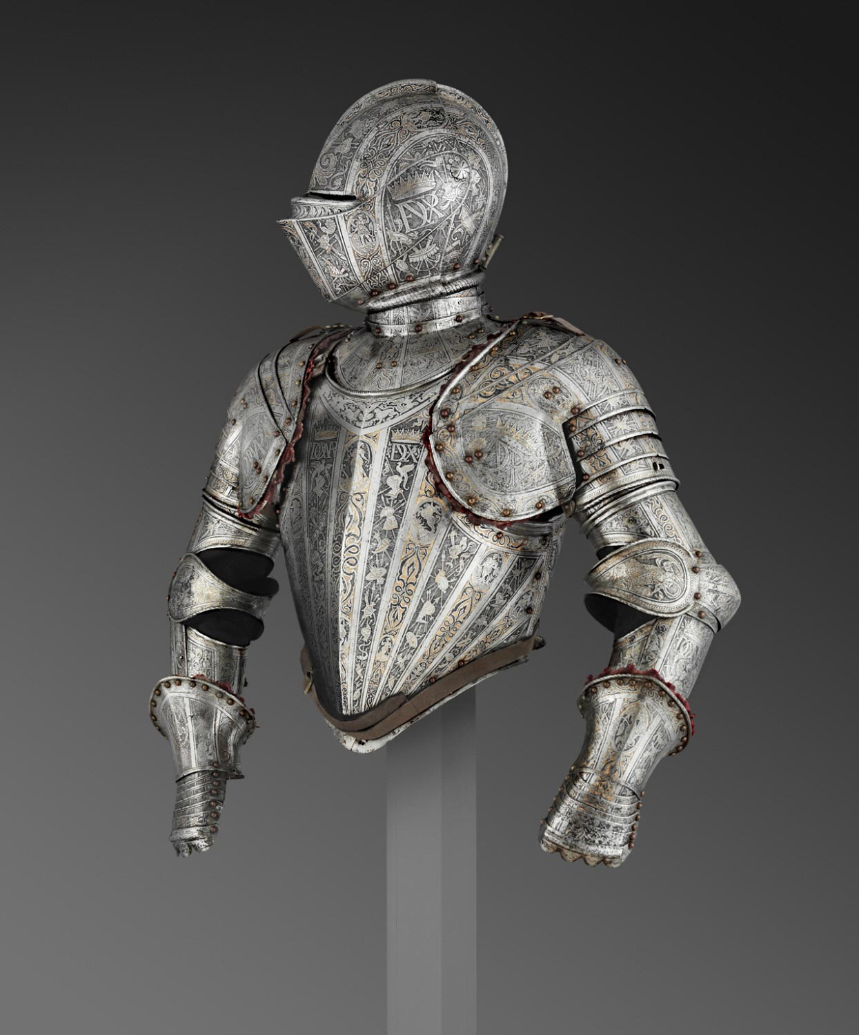 Armor for Use in the Tourney Fought on Foot over the Barriers