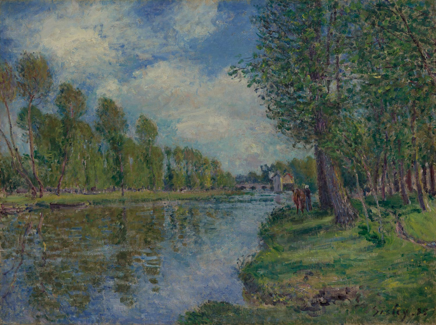 Banks of the Loing River